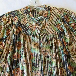 Limerix Hukapoo Vintage Shirt Top Small Colrful